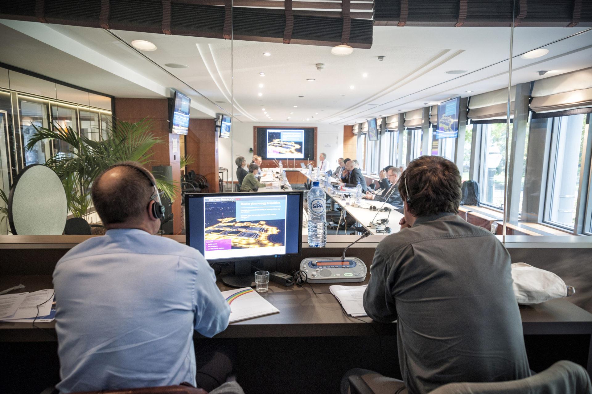 Dialog-Ruhr Deligiertenreise von Ruhrgebiets Oberbürgermeister und Landräten nach Brüssel