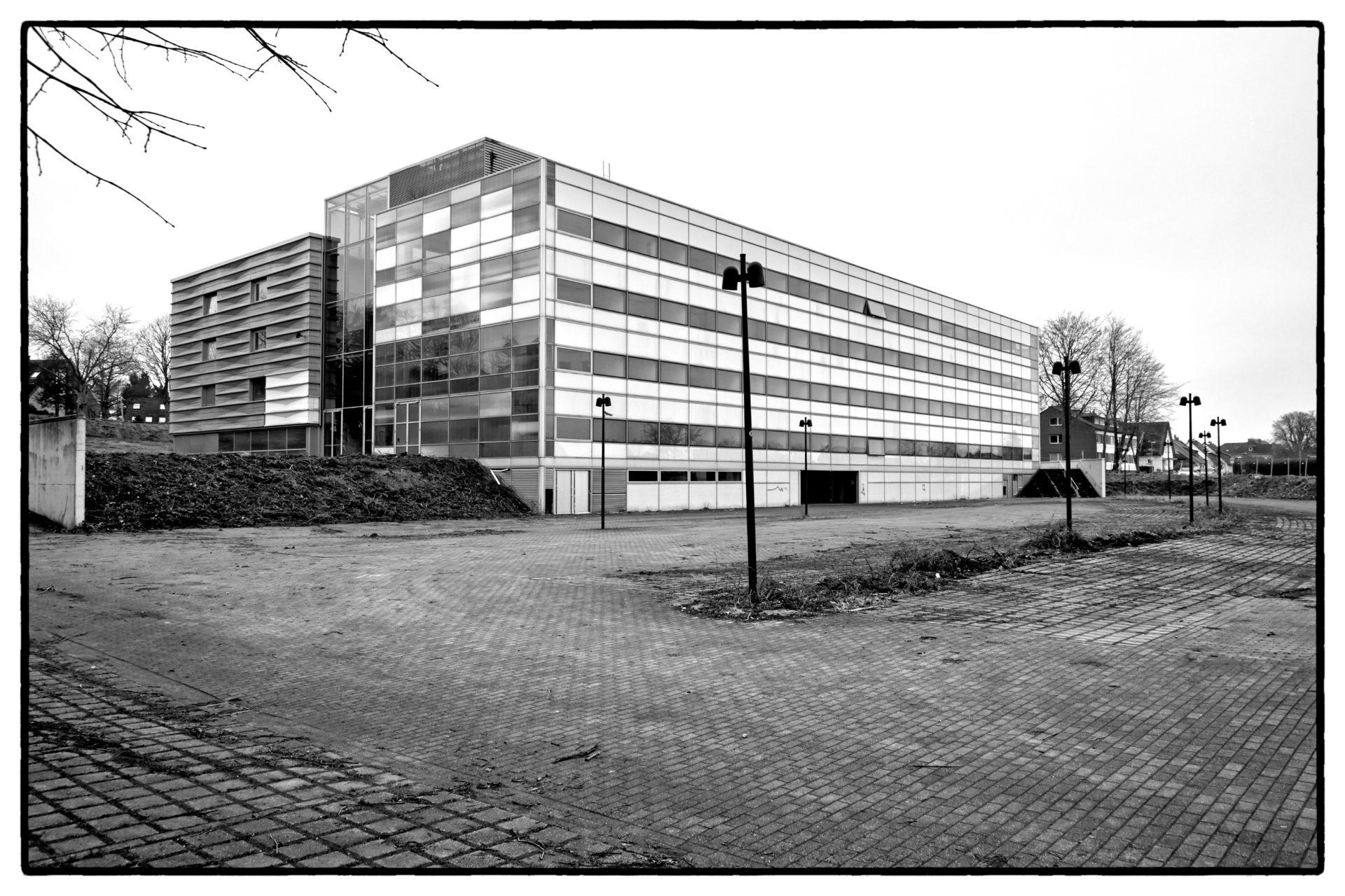 Abriss eines Gebäudes in Mülheim / Ruhr