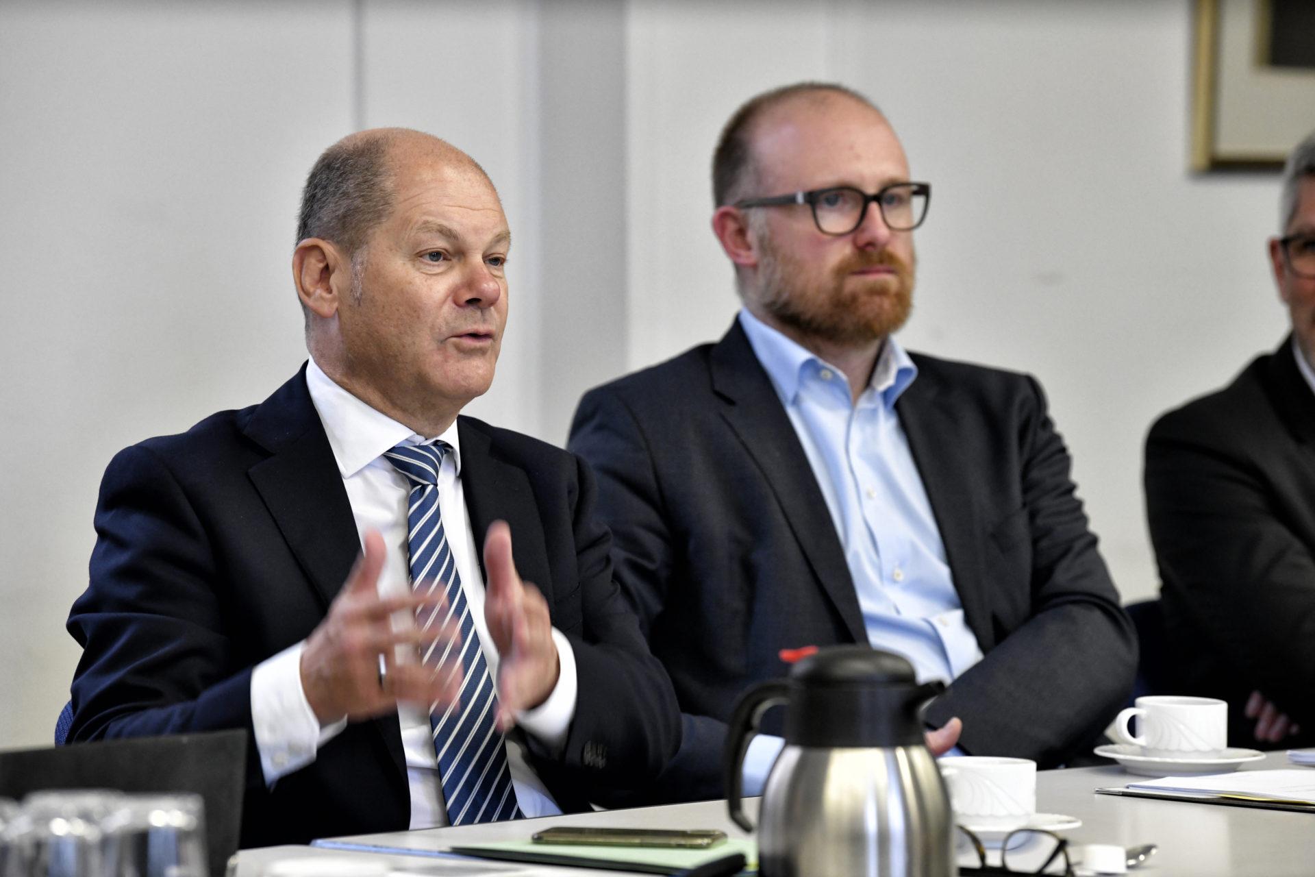 Olat Scholz, Bundesfinanzminister